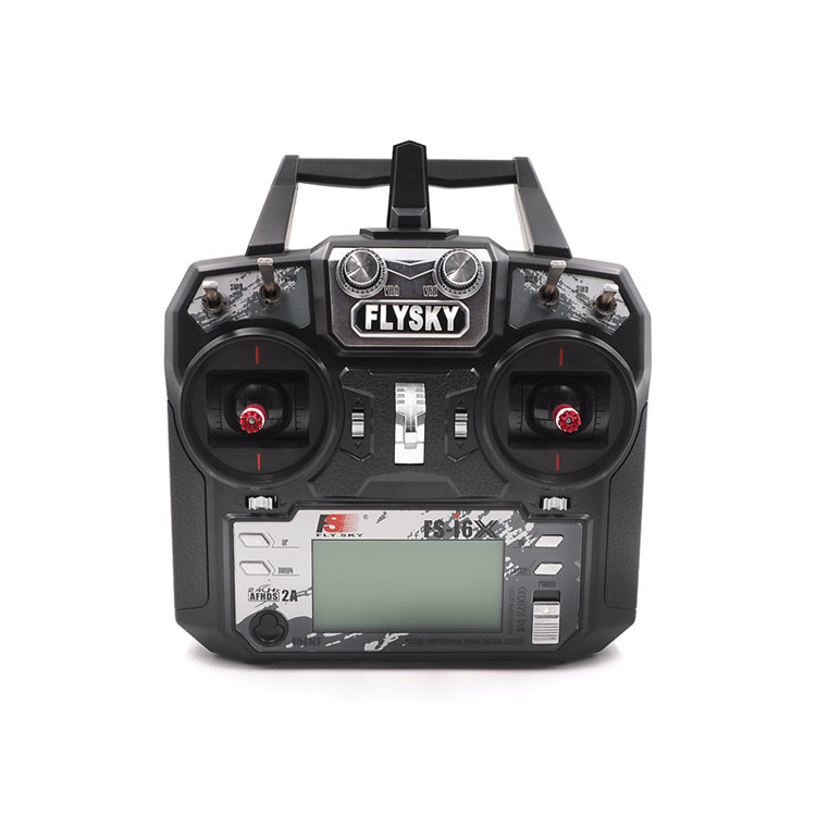 FS Fuss I6x Remote Control 2.4G Model Airplane Transmitter With Ia10b Receiver Four-axis Fixed-Wing Remote Control