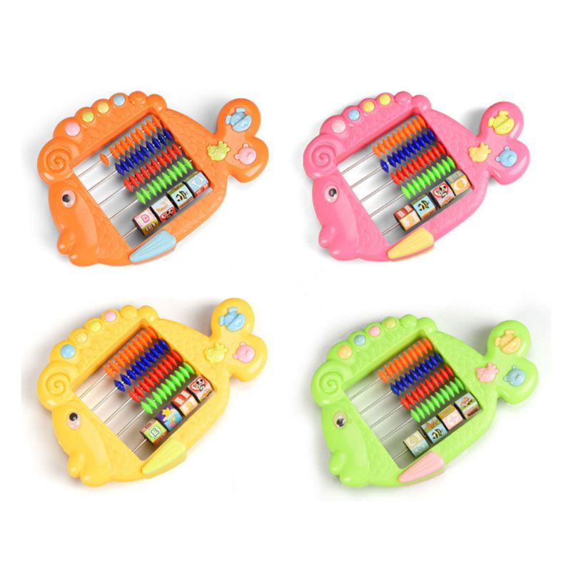 Baby Puzzle Early Education Abacus Toy Cartoon Animal Math Toy Abacus Boys Girls Educational Toys