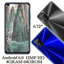 6.72inch Global K5 Smartphones 4G RAM+64G ROM Quad Core 8MP+13MP Front/Back Camera Android 6.0 Mobile Phones Celuares Unlocked