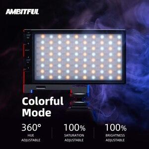 Image 3 - AMBITFUL luz LED regulable a todo Color K10 RGB 2500K 8500K para vídeo, fotografía, estudio, cámara DSLR, BL P1