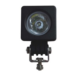 Дюймовый 10 Вт Рабочий светильник для внедорожников, переоборудованный купольный светильник, светодиодный перекрестный автомобильный голо...