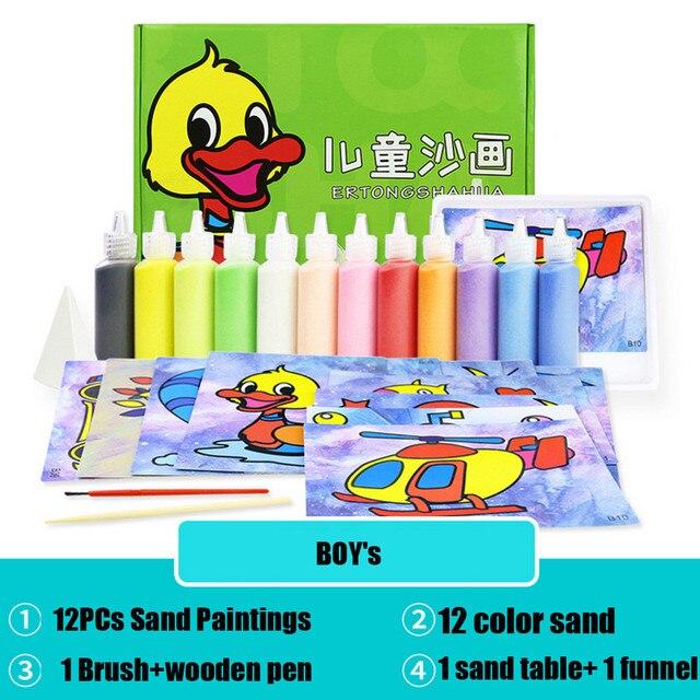 Fun Express Super Sand Art Pen Toy 12 Pack