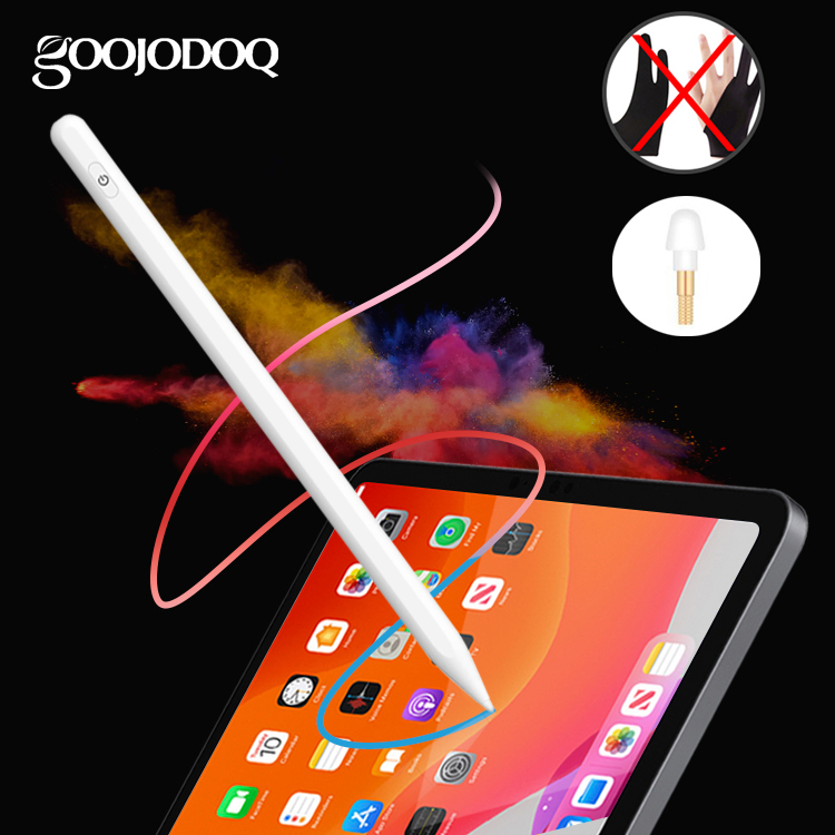 GOOJODOQ 3rd Pencil Stylus Pen For IPad 10.2 (7th Gen) 2019 /2018(6th Gen)/ Air 3/ Mini 5 With Palm Rejection For Apple Pencil 2
