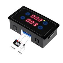 0,1 s-999h Countdown-Timer Programmierbare Zyklus Control Modul Zeit Dalay Relais Dual Display Timer Relais 5V/12V/220V