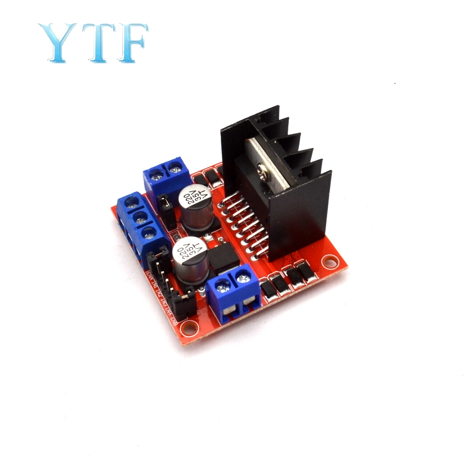 Smart Electronics L298N Stepper DC Motor Driver Development Board For Arduino DIY Car Robot Dual H Bridge