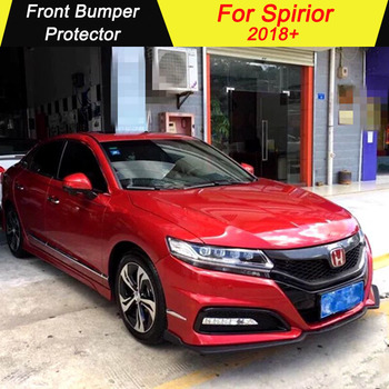Car Front Bumper Protector For Honda Spirior 2018+ Front Bumpers Lip Diffuser Decoration Skid Plate Bumper Cover