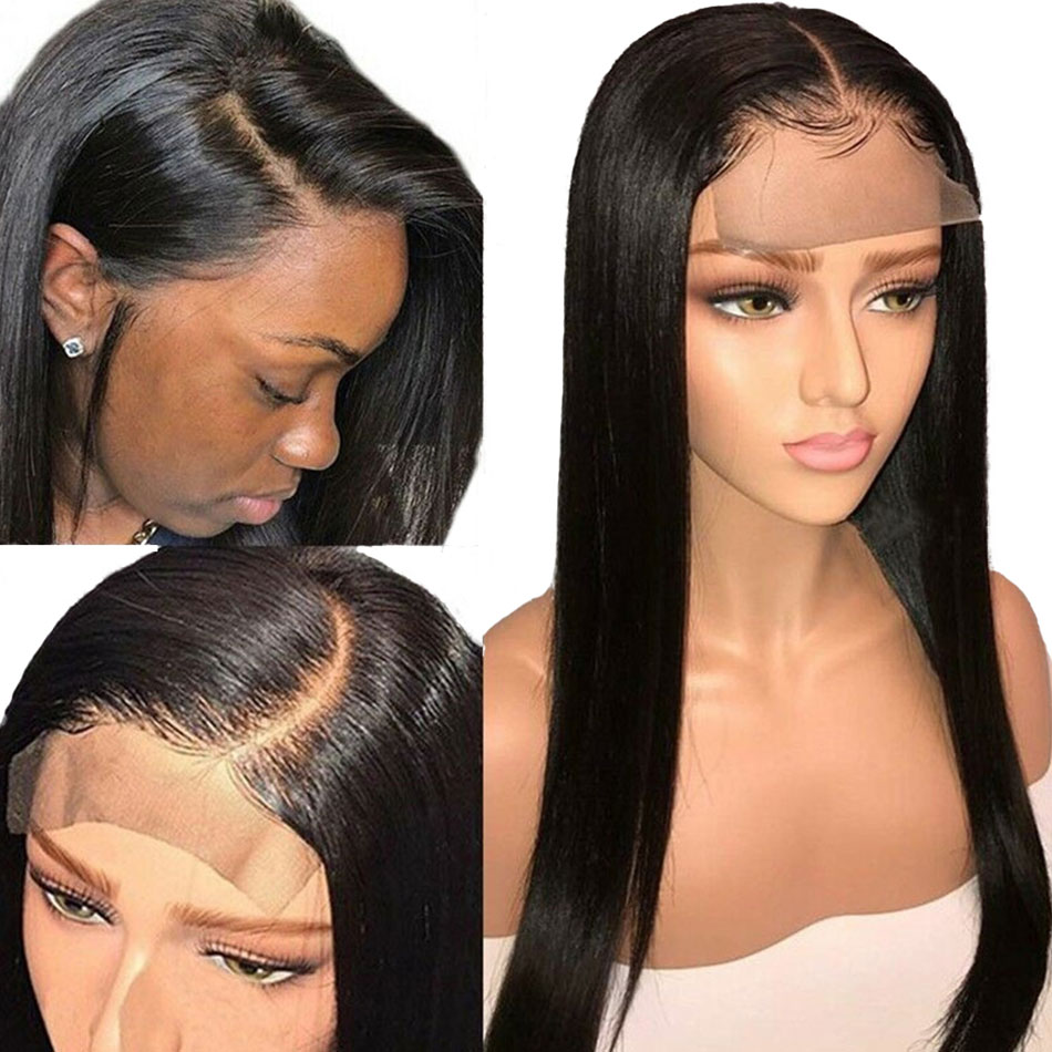 Alibele-4x4-Lace-Closure-Human-Hair-Wigs-150-Remy-Brazilian-Straight-Human-Hair-Wig-For-Black (4)