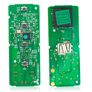 Image 2 - KEYECU الذكية مفتاح بعيد 4 زر فوب FSK 315Mhz PCF7953P 49 رقاقة لمازدا CX 9 CX9 SUV 2016 2017 2018 WAZSKE13D02 / SKE13D01