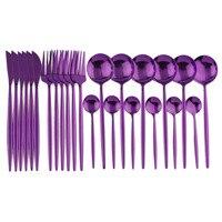 24Pcs Purple