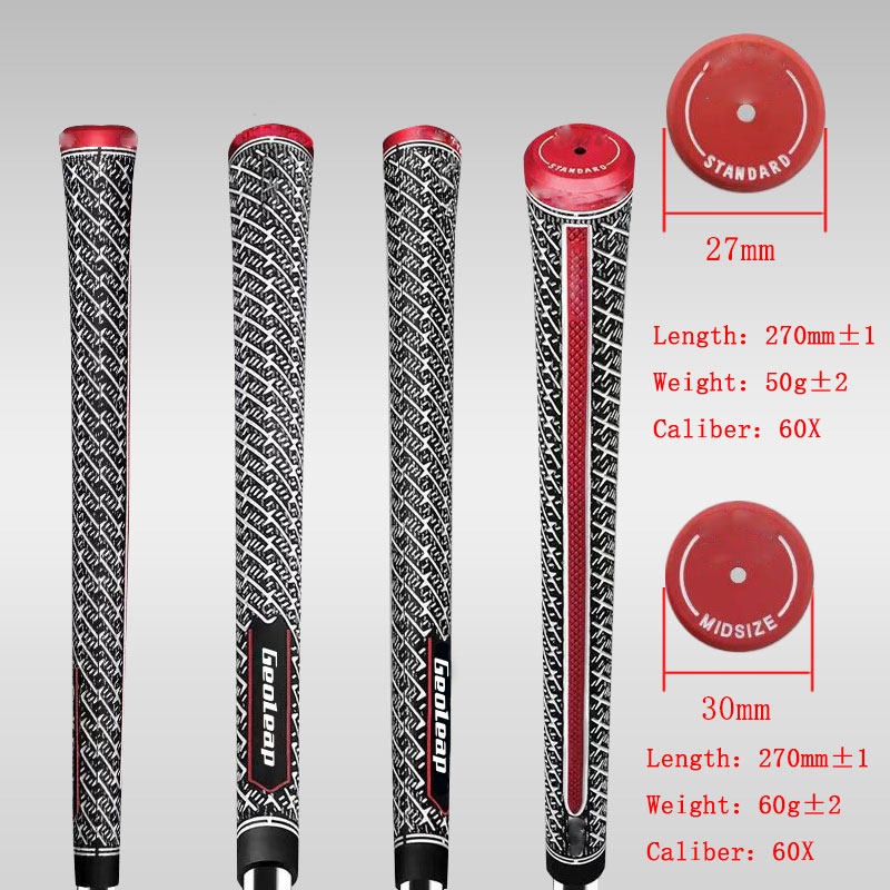 Newest Golf Grips 60X Golf Club Grips Iron And Wood Grips  Standard And  Midsize 10pcs/lot