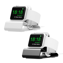 charger stand for apple watch series 6/5/4/3/2/SE Aluminum Bracket Charger Dock Station Charging Holder for iwatch 44 42 40 38mm