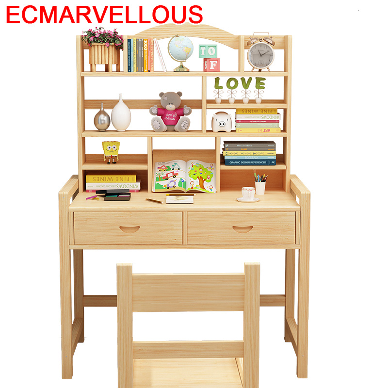 Desk For Baby Silla Y Infantiles Children And Chair Tavolino Bambini Adjustable Mesa Infantil Bureau Enfant Kids Study Table