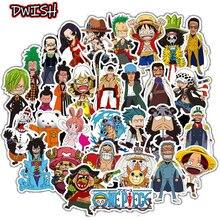10/30/50 adet çizgi film Anime tek parça çocuk su geçirmez çıkartmalar kaykay gitar bavul Graffiti Sticker çocuklar klasik oyuncak