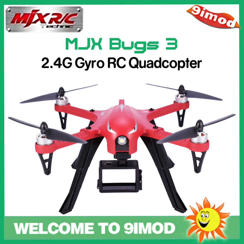 MJX B3 Bugs 3 RC Drone Helikopter Quadcopter Borstelloze Motor 2.4G Mini Drone met 4k Camera Gyro Drone professionele Helicopter