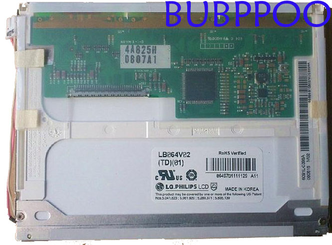 6.4 Inch LCD LB064V02(TD)(01) LB064V02-TD01 LB064V02 TD01 LB064V02(A1) 640*480 100% Tested Original For LG, RoHS