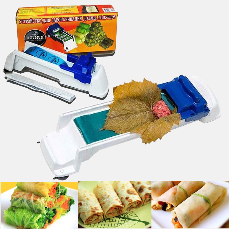 Vegetable Meat Rolling Tool Creative Stuffed   Leaf Rolling Machine Gadget Roller Tool For Kitchen Accessories 1pcs