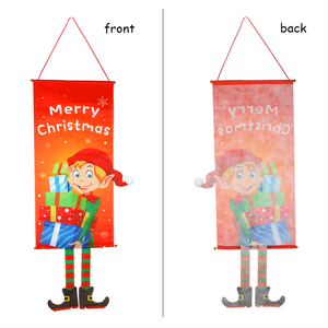 Image 2 - חג מולד קישוטים לבית מרפסת סימן דקורטיבי דלת תליית דקור החג שמח חג המולד קישוטי Navidad 2020 לידה 2021