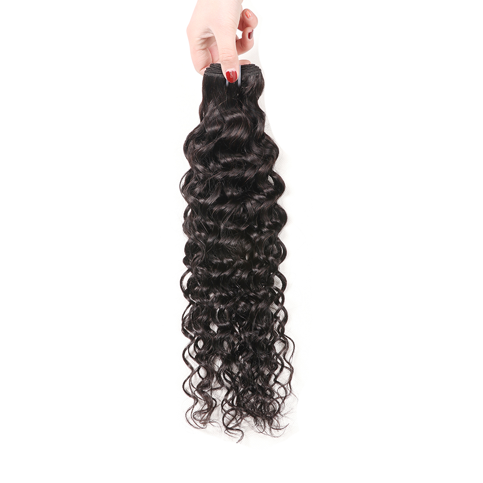 Water Wave Bundles Brazilian Hair Weave Bundles Ombre Human Hair Weave Extensions 1B Natural Color Remy 1B/4/27 Buy 3 Bundles