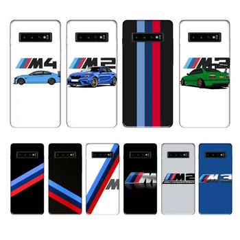 Bmw blue red sports case coque fundas etui for samsung galaxy A10 A20 A30S A40 A50 A51 A70 A71 note 8 9 10 cases cover image
