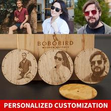 BOBO BIRD Personal customize Men Watch Family Anniversary Birthday Gift Quartz