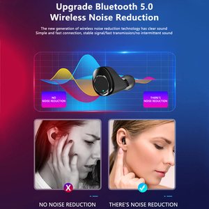 Image 5 - Cuffie Wireless TWS X13 3500mAh Bluetooth 5 auricolari auricolari Wireless veri con microfono a cancellazione di rumore cuffie impermeabili IPX7