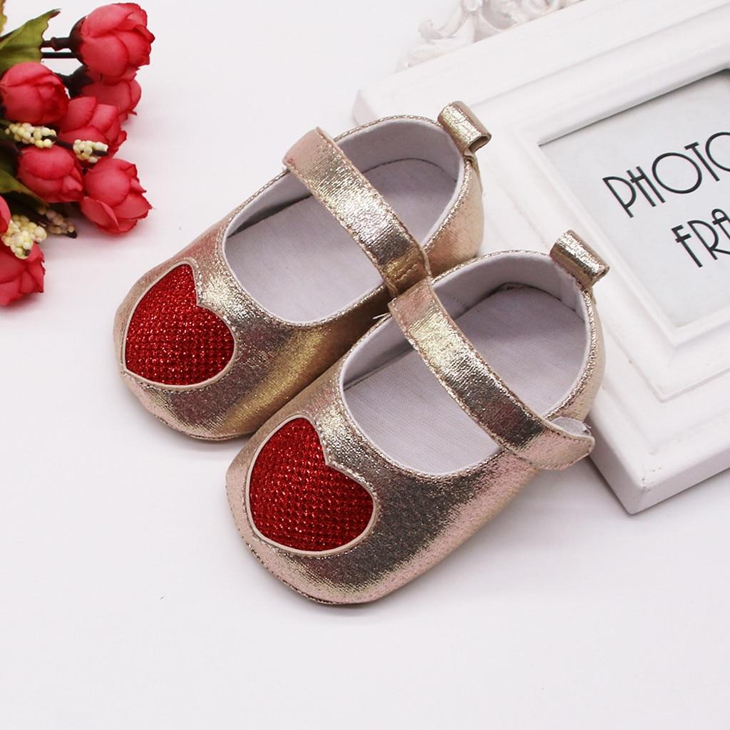 Kids Shoes Toddler Brand-New Prewalker Crib Anti-Slip Soft-Sole Newborn Infant Baby-Girl