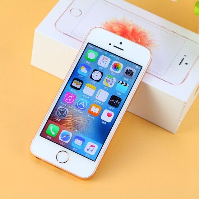 Original Apple iPhone SE Used 99% New 4G LTE Unlocked Mobile Phone 16GB 32GB 64GB 12MP Wifi Cellphones 5