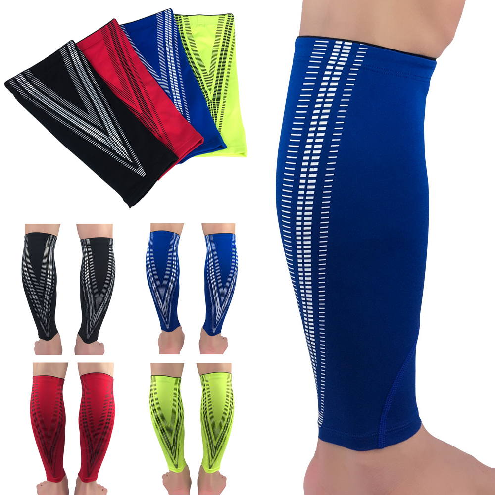 1 Piece Sports Protective Leg Sleeve Compression Calf Leg Brace Support Fitness