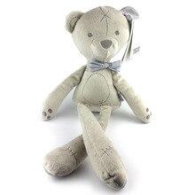 Игрушка кукла Здоровье материал для изготовления Великобритании аристократический медведь родитель и ребенок Детская Пижама Мягкая игрушка