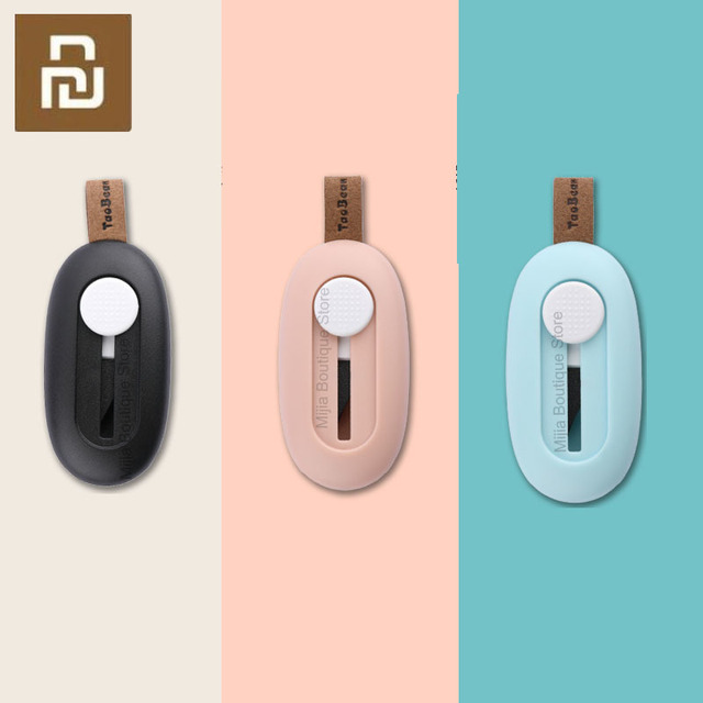 New Xiaomi NexTool Mini Unpacking Knife Carry on Box Cutter Keychain Folding Knife Outdoor Survive Clip Knife Camp Sharp Cutter