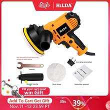 HILDA Car Polisher Machine Auto Polishing Machine Adjustable Speed Sanding Waxing Tools Car Accessories Power Tools