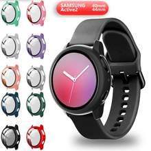Новый чехол для samsung galaxy watch active 2 44 мм 40 пластиковый
