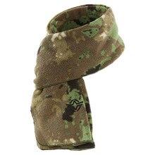 ESDY осенне-зимний флисовый теплый шарф для альпинизма, верховой езды, камуфляжный нагрудник для кемпинга, охоты, тюрбана