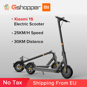 Xiaomi 1S Smart Electric Scooter Original Mijia Foldable Mi Lightweight Skateboard 25km/h 30kM Distance 7800mAh Sports Scooter