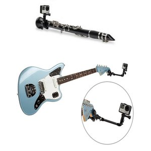 Image 4 - Adjustable Desktop Guitar Mic Music Mount  Rotating Stage Clamp Bracket Holder for GoPro/XIaoyi/SJCAM/AEE Sports Camera Stand