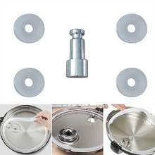 Pressure Cooker Replacement Floater Sealer Universal Safety Valve Cookers Parts Floater and Sealer Kitchen Accessories Tool 2per lot aluminum pressure cooker safety plug vent hole pressure cooker accessories