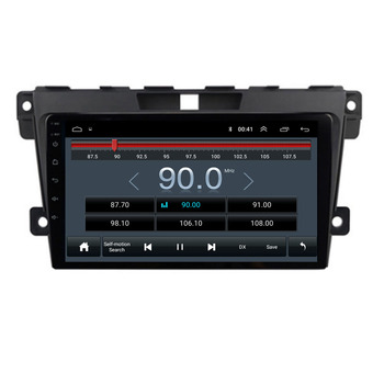 9 octa core 1280*720 QLED screen Android 10 Car GPS radio Navigation for Mazda CX-7 2008-2015 with 4G/Wifi DVR mirror link OBD image