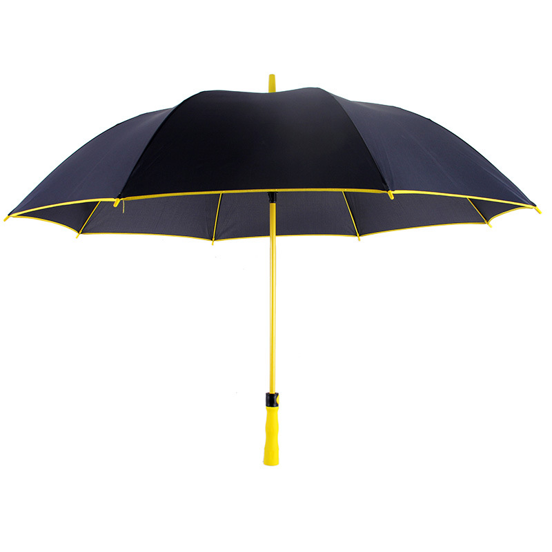 Aurora New Style Color Fiber Golf Umbrella Can Be Printed Logo Advertising Umbrella 30-Inch Large Umbrella Surface Business Gift