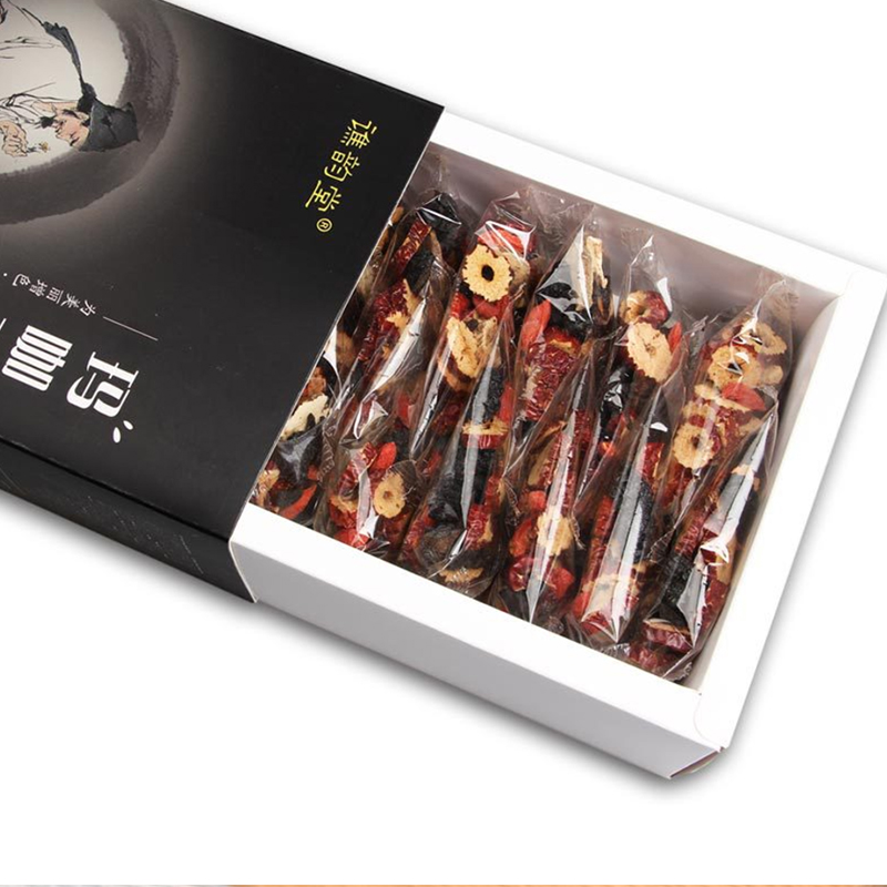 Qiao Yuntang Maca Five Treasures Tea 300g gift box men's exclusive health tea can play the role of protecting the liver and lung