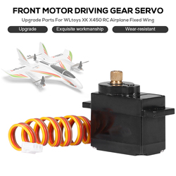 Newest Upgrade Parts For WLtoys XK X450 RC Airplane Aircraft Front Motor Driving Servo with Metal Gear