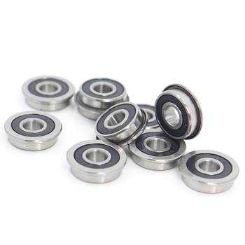 F695 2RS Bearing 5*13*4 mm ( 10 PCS ) ABEC-7 Flanged Miniature F695 RS Ball Bearings F695RS For VORON Mobius 2/3 3D Printer r3zz bearing 4 763 12 7 4 98 mm abec 5 bearings metal sealed miniature bearing 3 16 x 1 2 x 0 196 inch r3 r3z r3zz
