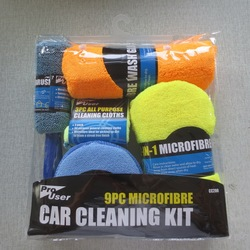 9 sztuk do czyszczenia pojazdów blok narzędzia samochodowe narzędzia do rękawice do mycia wosk do polerowania Pad ręcznik do wycierania samochodów opona szczotka do czyszczenia zestaw podarunkowy w Mopy od Dom i ogród na