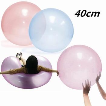 Magic Bubble Ball XL Balloons Big Amazing Bubble Ball Giant Wiggle Bubble Balloon 40cm Dropship