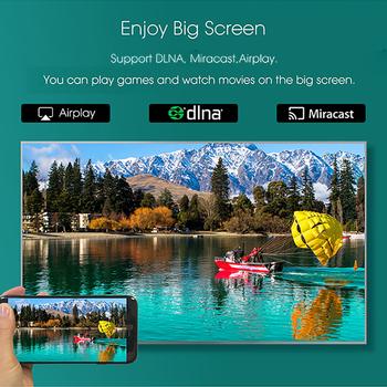 MECOOL K5 DVB S2 T2 Smart TV Box Android 9 0 Amlogic S905X3 100M 2 4G 5G WIFI Bluetooth4 2 2GB 16GB dekoder PK K6 K7 TV BOX tanie i dobre opinie 100 M CN (pochodzenie) Procesor Amlogic S905X3 Quad-core 64-bit 16 GB eMMC Brak 2G DDR3 0 4kg 1x USB 2 0 1x USB 3 0 HDR10