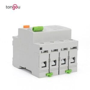 Image 4 - 4P 63 а Тип B 10KA RCCB RCD 230 В 400 в 30 мА автоматический размыкатель остаточного тока