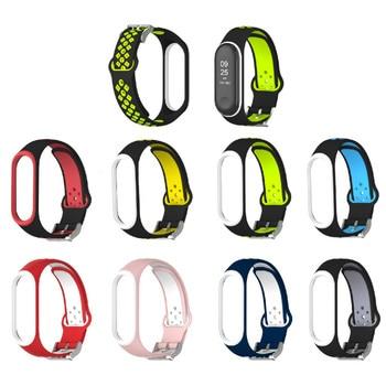 NEW Sport Mi Band 3 4 Strap wrist strap for Xiaomi mi band 3 sport Silicone Bracelet for Mi band 4 3 band3 smart watch bracelet 2019mijobs mi band 3 strap bracelet silicone nylon wristband smart band accessories wrist mi band3 for xiaomi mi band 3 bracelet