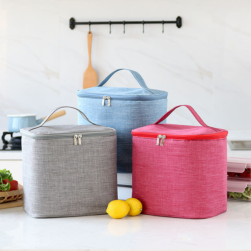 Insulated Lunch Bag For Men Women Kids Cooler Bags Leakproof Thermal Bento Organizer Bag For Travel Work Picnic Food Storage