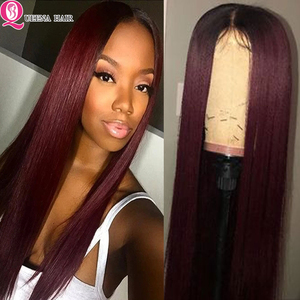 1B/99J Ombre Human Hair Wig 1B/27 Blonde Burgundy Straight Lace Front Wigs 13x4 Colored Burgundy Brazilian 4x4 Lace Closure Wig