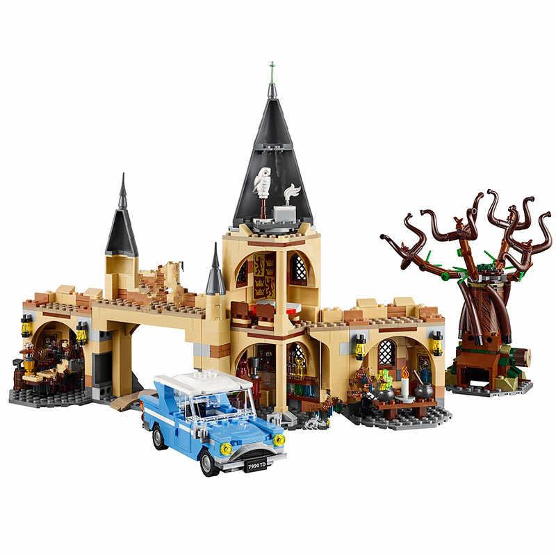 Năm 926 Bộ Phim Harry Hogwarte Lâu Đài Magic Cinderellaing Công Chúa Legoinglys Mô Hình Khối Xây Dựng Bộ Đồ Chơi Dropshiping