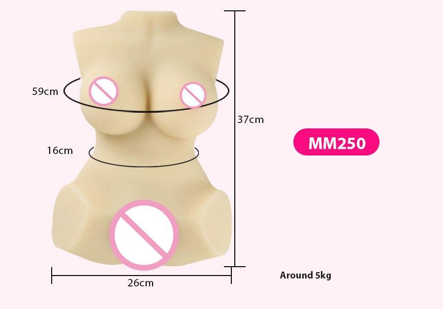 Hd1e2cfec5aef4887bdd5befae29977a6G Muñeca sexual realista para hombres adultos, maniquí con Vagina Real, de goma, Anal, Media cuerpo, a la moda, productos calientes para masturbación masculina, 3D